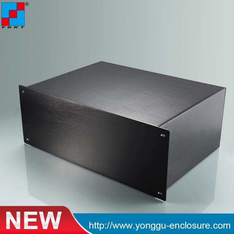 YGH-002-4u 482*178*320 مللي متر الألومنيوم أداة صندوق مسطح/الألومنيوم رف جبل