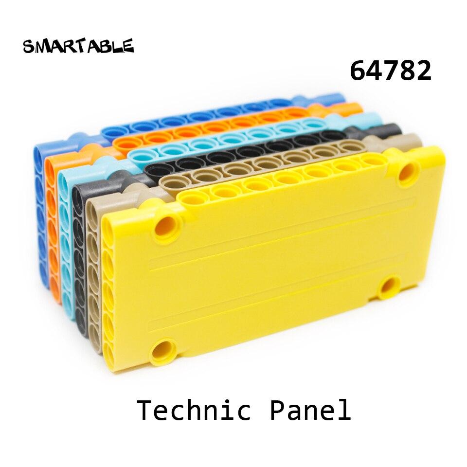 Smartable High-Tech Panel 1x5x11 Building Blocks MOC Part STEAM Toys For Kids Creative Compatible High-Tech 64782 5pcs/lot
