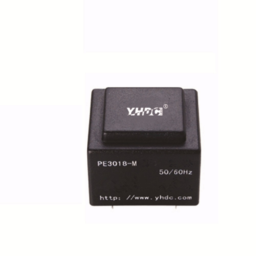 PE3018-M 2VA 220V 9V encapsulado transformador montaje PCB