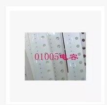 20 pz/lotto 0.01UF 10% 6.3V X5R 01005 C1739 condensatore per il iphone 6 6G I6 sulla scheda madre fix parte