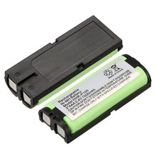 2 paquets un ensemble! 2.4 V 1000 mAh batterie de téléphone à la maison pour Panasonic HHR-P105 P105 HHRP105A KX242