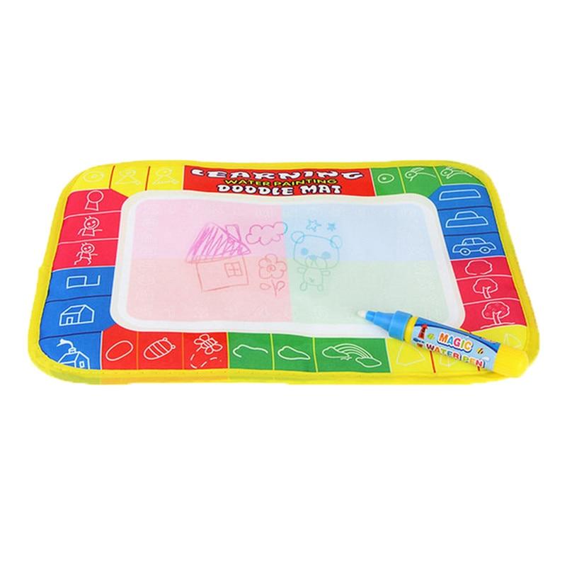 29x19 cm Nuevo dibujo pintura escribiendo Mat de la pluma mágica Doodle regalo juguete característica Juguetes Para childrenA1