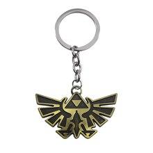 Punk Vintage Bronzen aile forme porte-clés la légende de Zelda porte-clés Hip Hop pendentif voiture porte-clés hommes porte-clés hommes bijoux