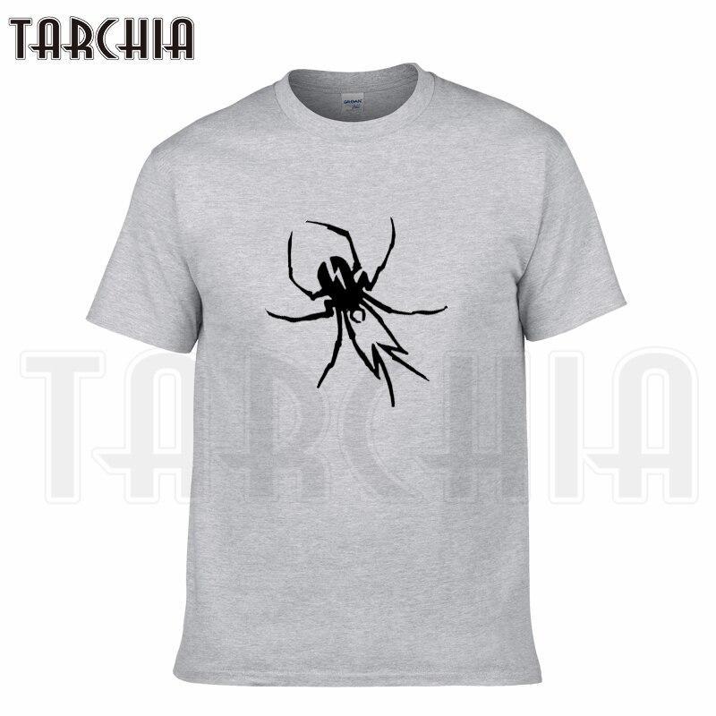 TARCHIA 2019 nueva marca de verano arachnid Camiseta de algodón tops tees hombres de manga corta Niño casual homme camiseta más moda