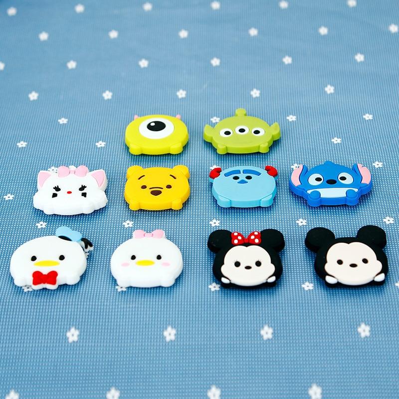 1 Piece Cartoon Creative Stitch Kids Kawaii Mickey Mouse Home Decorative Souvenir Small Fridge Magnets Sticker TZ059