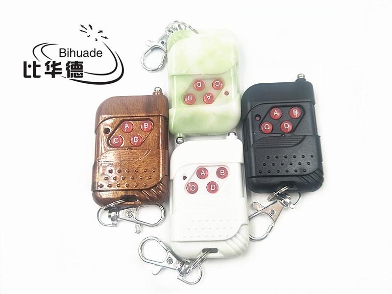 4 botones 315mhz RF Control remoto código de aprendizaje 1527 para puerta de garaje controlador de puerta interruptor de luz 315mhz(Color envío aleatorio)
