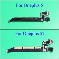 yuxi high quality for oneplus one plus 5 5t type c usb charging port dock connector flex cable replacement assembly parts