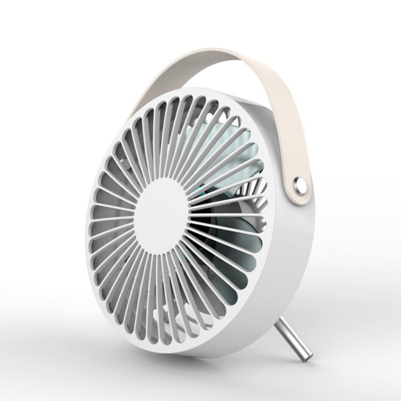 Portable USB Fan Mini Ventilador Fan Three-Vane For Home/Office ABS Electric Desktop Computer Lithium Pedestal Fan Blades