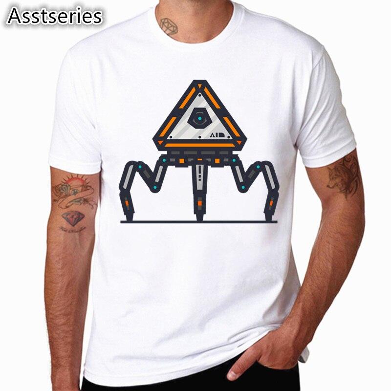Camiseta Apex Legends Game para hombre, camisetas de manga corta de verano para hombre, camisetas para juegos de adultos, camiseta de talla grande HCP4560