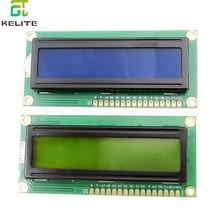 1PCS LCD1602 1602 module groen scherm 16x2 Karakter LCD Display Module.1602 5V Blauw/Gree scherm en wit code voor
