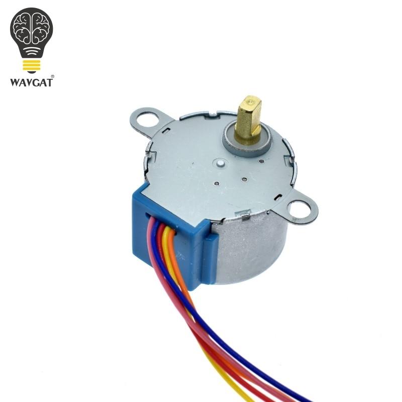 Шаговый двигатель WAVGAT, 5 В, 28BYJ-48 + Модул�