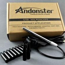 Otoscope vidéo numérique USB Andonstar A2 pour caméra auriculaire télémédecine orl