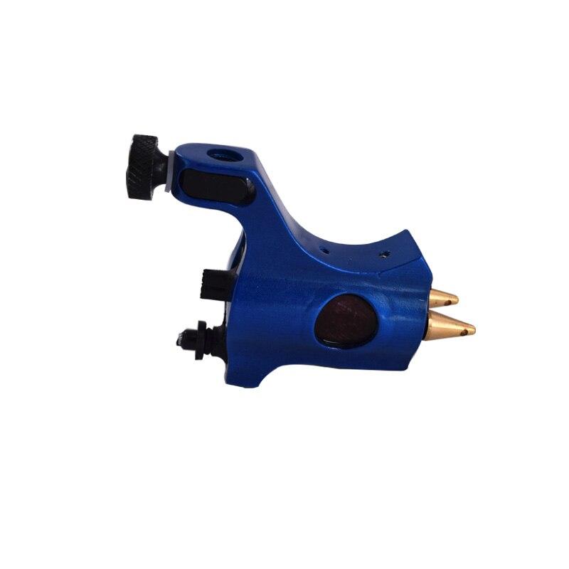 Rotary Machine Gun Blue Swiss Motor Aluminum Shader Liner Body Art for Tattoo Power Supply Footpedal Tattoo Supply Tattoo Artist