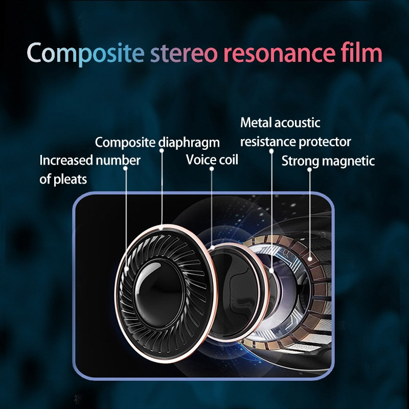 True wireless stereo Earphones deep bass sports IPX7 waterproof With microphone earplugs TWS Bluetooth5.0 touch running Headset enlarge