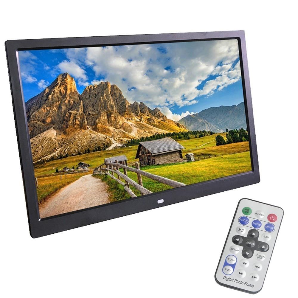 Liedao Nieuwe 12 Inch Digitale Fotolijst Ingebouwde Batterij HD LED Backlight Elektronische Album Foto Muziek porta retrato digitale