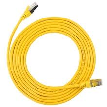 BELNET 1M 2M 3M F/UTP CAT5e cordons de raccordement câble réseau feuille daluminium blindé paire torsadée OFC pur cuivre sans perte rapide Ethernet