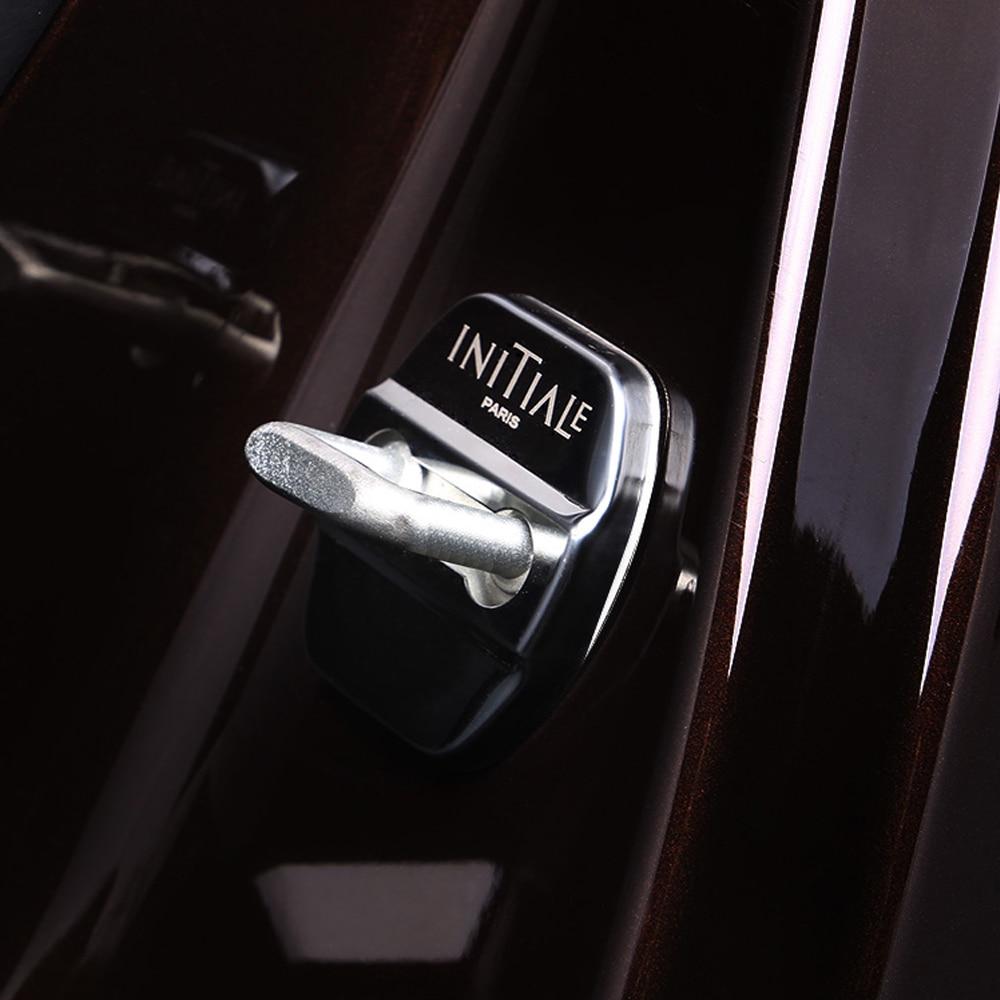 Hebilla de bloqueo de puerta de coche de acero inoxidable, funda protectora para Renault Koleos Qm6 2016 2017 2018, accesorios interiores con estilo para coche
