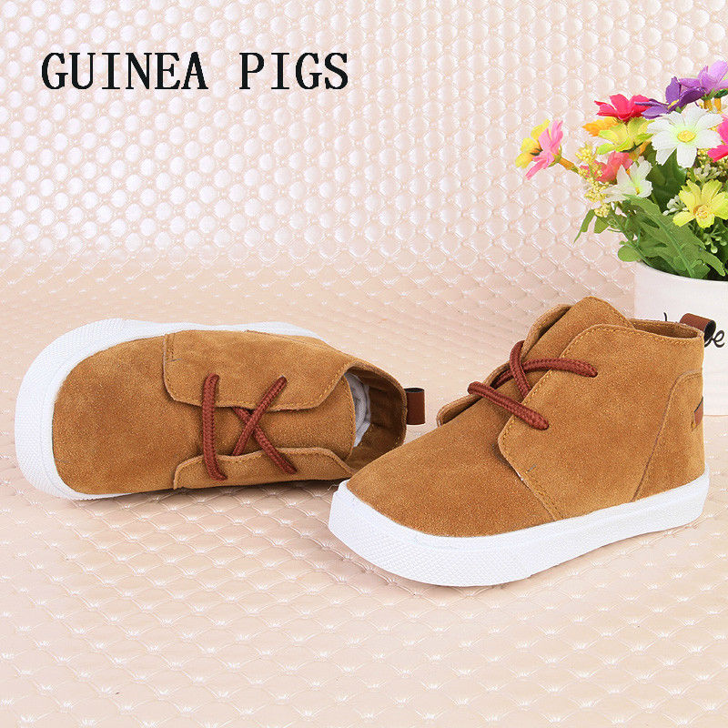 Autumn New Fashion Children Shoes Baby Girls Super Soft Comfortable Boys Suede Toddler Casual Shoes