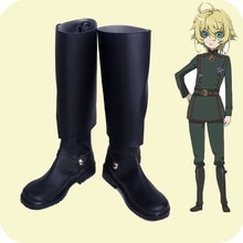 Saga of Tanya the Evil Cosplay shoes Youjo Senki Tanya von Degurechaff Anime boots Custom-made