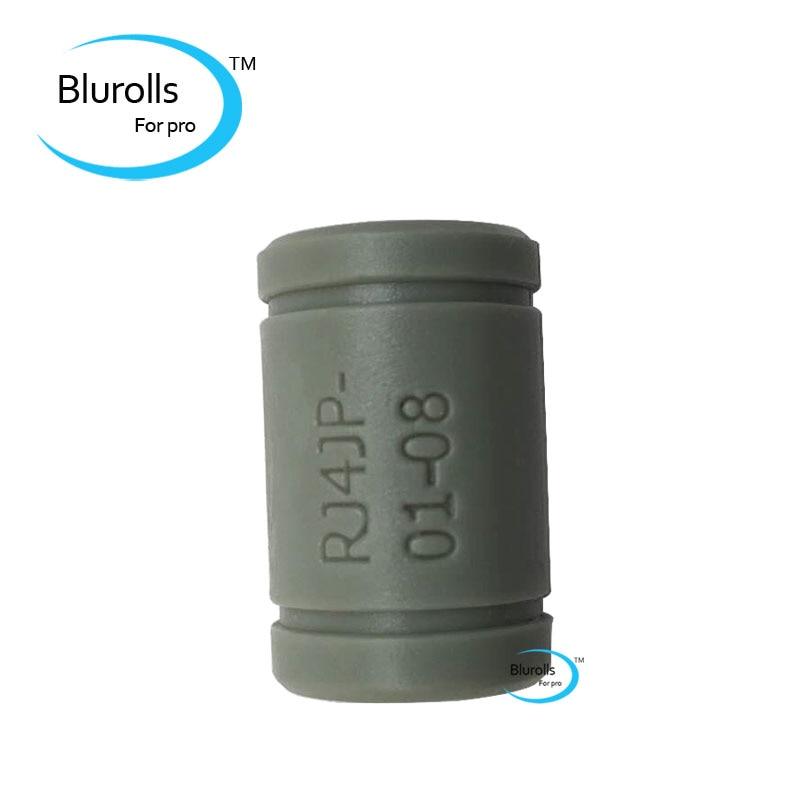 Blurolls 3/7/10 шт., IGUS твердый полимер LM8UU подшипника 8 мм, вал Drylin RJ4JP-01-08 для Anet Reprap Prusa i3 3D принтера