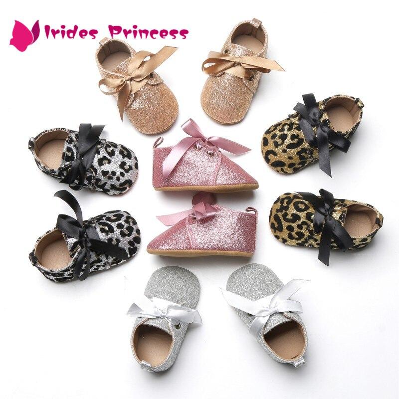 Zapatos de bebé primer andador bebé niñas lentejuela algodón suela suave zapatos de fondo suave bebé niñas zapatos