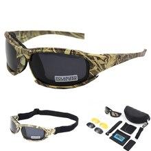 DAISY lunettes 4LS hommes militaire lunettes de soleil polarisées en plein air hommes Airsoft Sport lunettes moto cyclisme lunettes