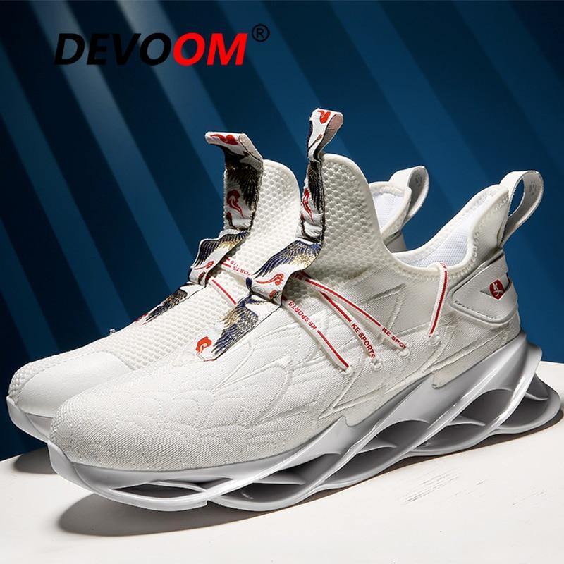 Novo tênis de corrida para os homens sapatos de corrida atlético homem cesta homme branco tênis masculinos sapatos esportivos zapatillas hombre