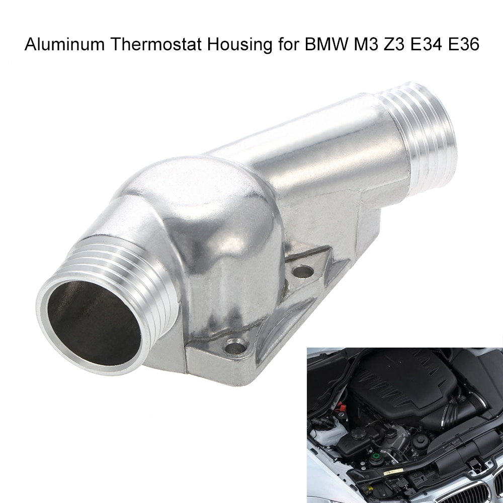 Aluminium Thermostaat Behuizing Met Pakking Voor Bmw M3 Z3 E34 E36