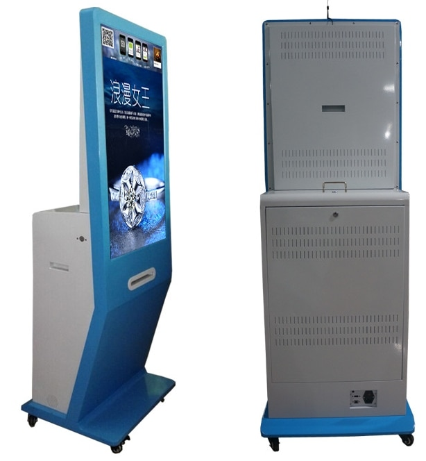 21.5 24 32 42 inch touch screen all in one led lcd pc tv wechat whatsapp Photo taking Booth Kiosk signage totem with printer