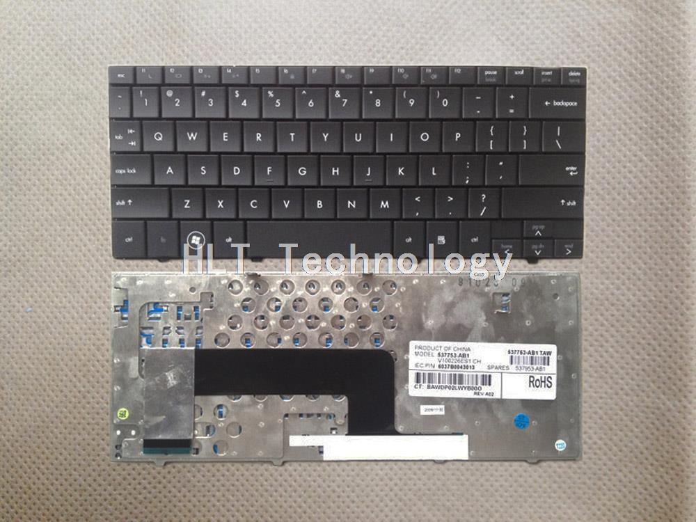 Teclado Original y nuevo negro de EE. UU. Para teclado portátil HP MINI110 ¡Buen trabajo!