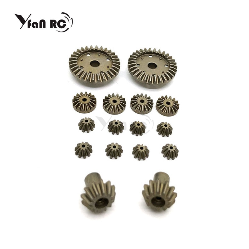 12T 24T 30T Metal Front Rear Differential Gear/Motor Driving Gear Upgrade Repair Parts for WLtoys 12428 12423 1/12 RC Cars Parts enlarge