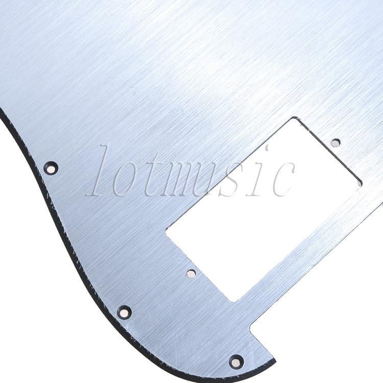 2PCS Aluminum Surface Electric Guitar Pickguard For Electric Strat Replacement 11 Hole enlarge