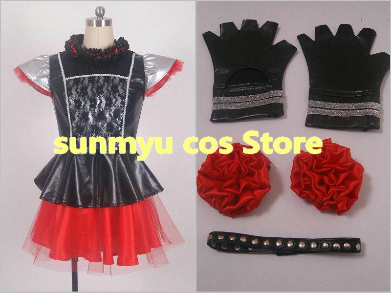 Free Shipping!BABYMETAL MOA-METAL  YUI-METAL  Cosplay Costume! ,Size Customizable , Halloween