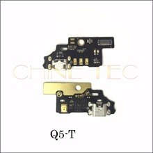 Micro Dock Port Connector Board USB Charging Flex Cable With Micphone Transmitter For ZTE Blade S6 Q