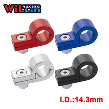 WILLIN-Billet Aluminium Lijn P Klemmen Om Pak I.D. 14.3mm 9/16 Tubing Line WLJN02-06 Goud/Paars/Rood/Blauw/Zilver/Zwart