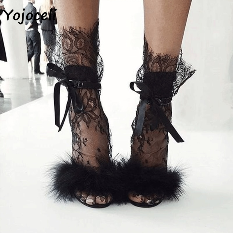 Motina julia 2 pares sexy preto rendas meias acessórios de salto curto rendas meias femininas streetwear