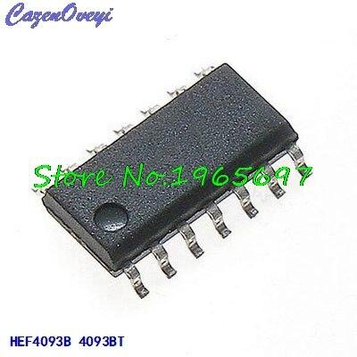 10 unids/lote HEF4093BT HEF4093 4093 SOP-14 nuevo Original