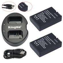 2Pcs EN-EL14 EN-EL14a ENEL14 EL14a Battery + USB Dual Charger for Nikon P7800 P7700 P7100 D5500 D5300 D5200 D3200 D3300 D5100
