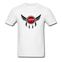Bon de réduction T-Shirt 100% coton coupe ajustée clair compressé SDA Logo conception impression t-shirts Hipster Air course T-Shirt en ligne