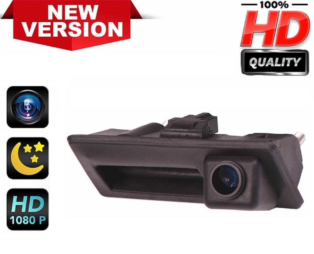 Cámara de marcha atrás HD 1280x720p cámara de visión trasera impermeable para Passat B5 B6 B7 3C , Touran, Sharan, Tiguan, Touareg Jetta