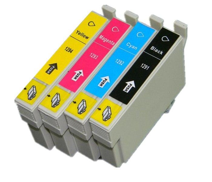 T1291 -T1294 cartucho de tinta para EPSON Stylus SX525WD SX535WD SX620FW BX925FW BX320FW Oficina B42WD impresora