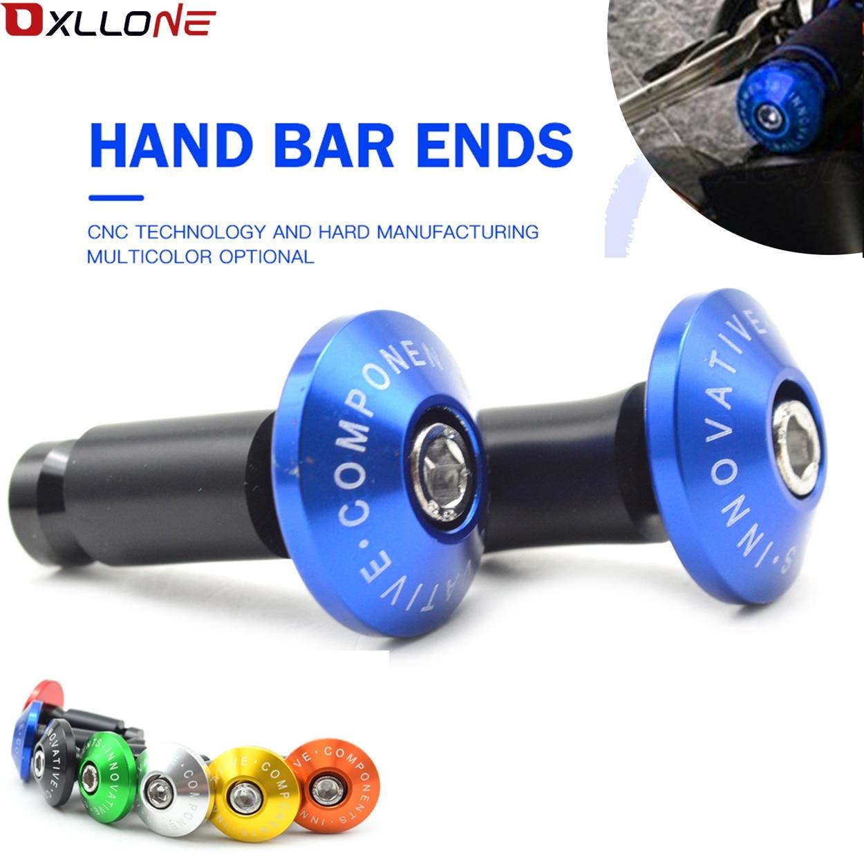 Aluminum motorcycle handlebar hand handle bar grips ends For honda MSX125 PCX 125/150 PCX150 PCX 150 Kawasaki yamaha