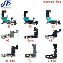 10 шт. зарядный гибкий кабель для iPhone 6 6G 6S 7 7g 8 8G Plus X XS Max XR 5 5S 5c SE док коннектор USB зарядное устройство Порт лента