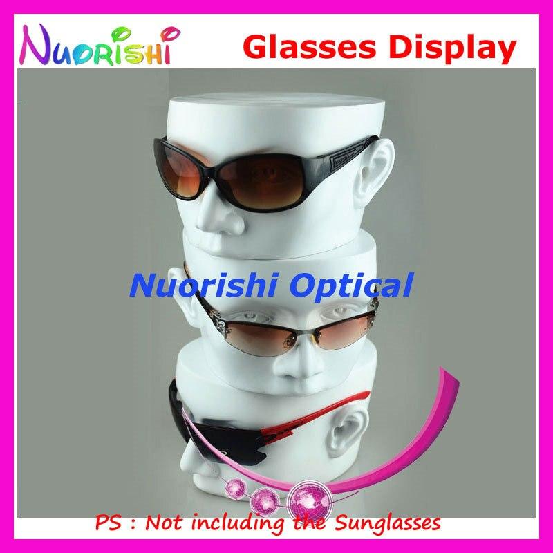 8 ألوان الأزياء رئيس العفن عرض تقف نموذج ل النظارات البصرية نظارات شمسية نظارات متجر متجر CK102 شحن مجاني