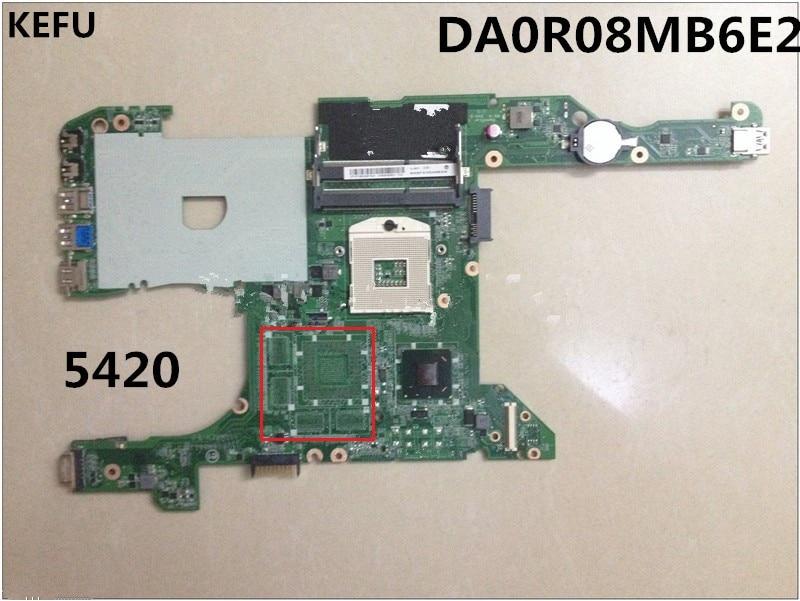 KEFU laptop płyta główna płyta główna dla dell 7420 5420 CN-0KD0CC DA0R08MB6E2 HM77 dobrej pracy