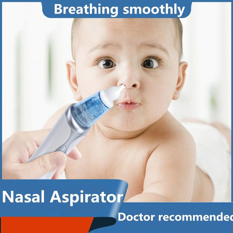 2019 Electric Baby Nasal Aspirator Snot Nasal Drops Aspirator Baby Newborns Baby Nose Cleaner Newborn Nail Aspirator Nasal Wash