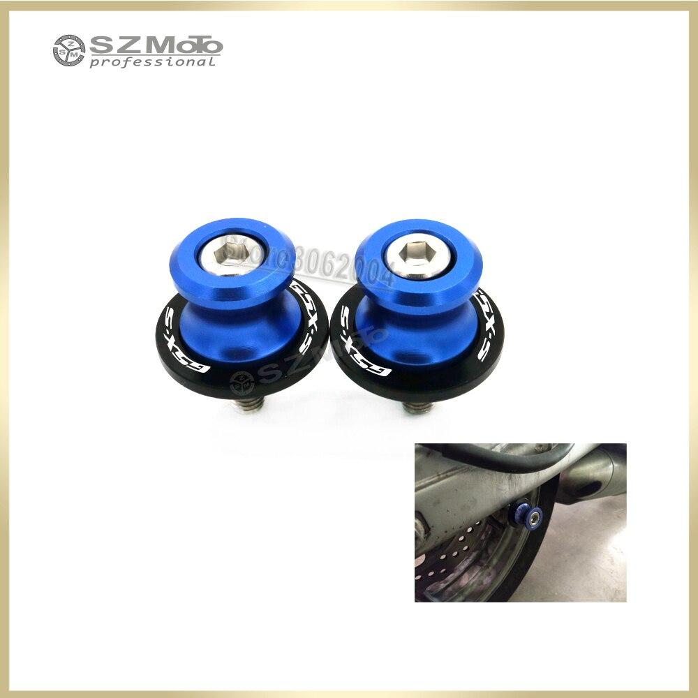 Для SUZUKI GSX-S 1000/F 750 1000 150 GSXS150 GSXS750 GSX1000/F 2015-2018 маятник Катушки слайдер M8 стенд винты мотоцикл