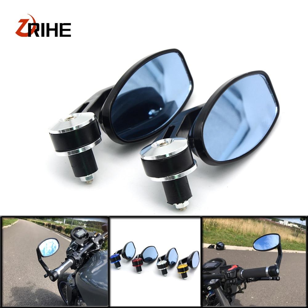 "Universal Motorcycle Mirror View Side Rear Mirror 7/8"" 22mm Handle Bar For Kawasaki VERSYS 1000 VULCAN/S 650cc Z800 Z 1000SX"