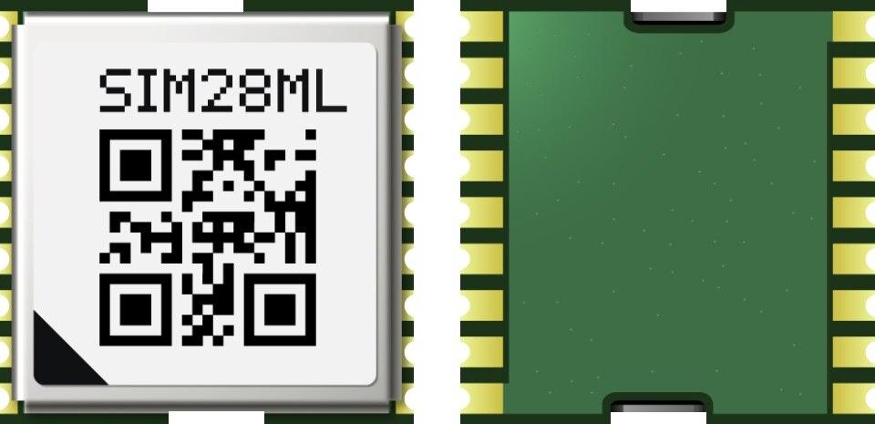 10 unids/lote JINYUSHI para SIMCOM SIM28ML GPS MTK 100% nuevo original distribuidor genuino canal receptor GPS en Stock