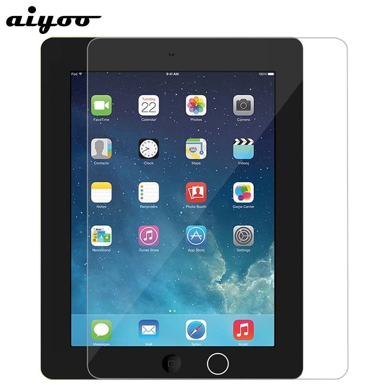 Aiyoo закаленное стекло для iPad 2 iPad2 защита для экрана для iPad 3 iPad3 9H Защита от царапин Закаленное стекло пленка для iPad 4 iPad4 9,7